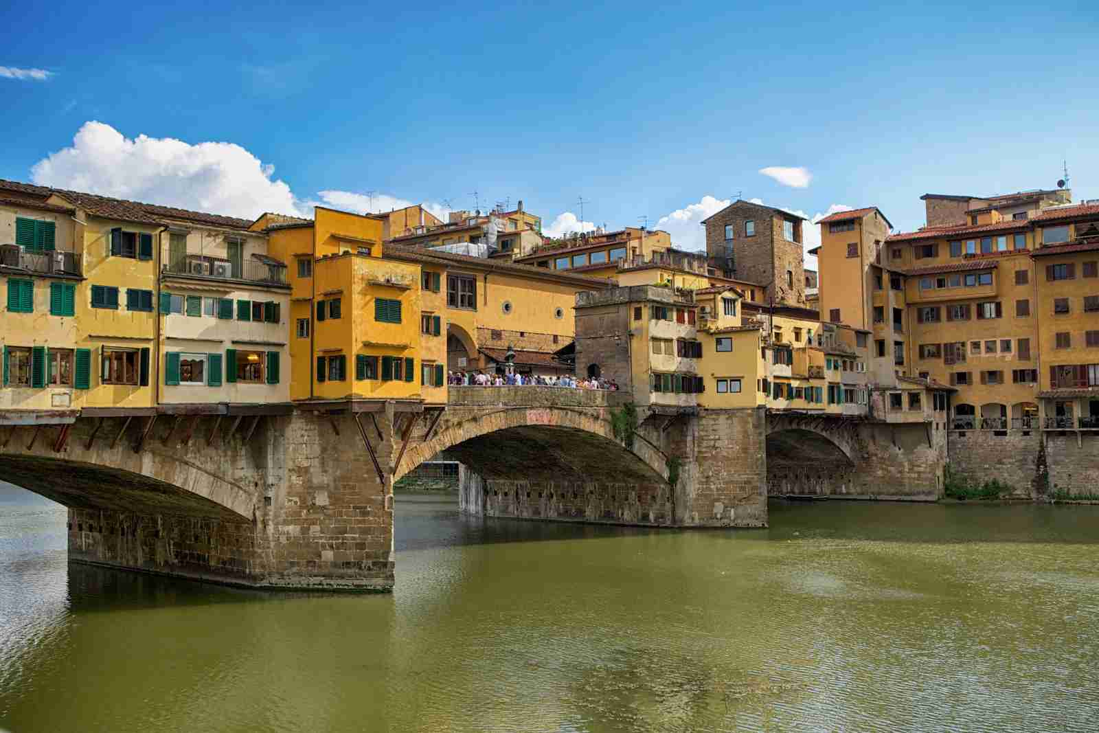 Ponte Vecchio, Florence. (Photo by Photography by Jeremy Vilasis. Phillippines / Getty Images)