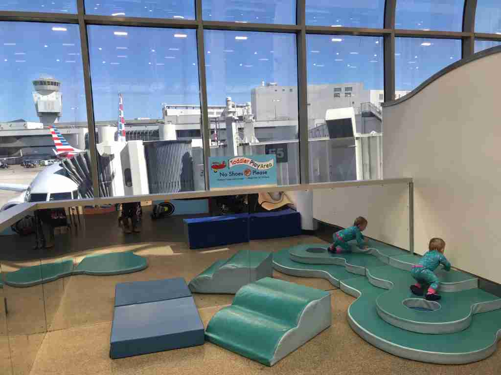 Play area for kids near the E gates at Miami International Airport (Terry-Ward.com)