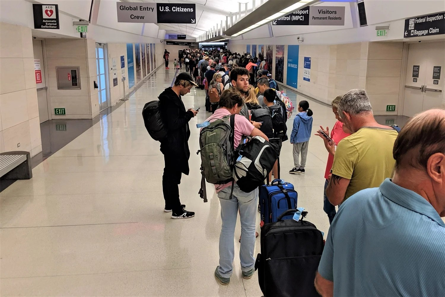 Immigration Nightmare: How Global Entry Saved Me Hours At SFO on Monday