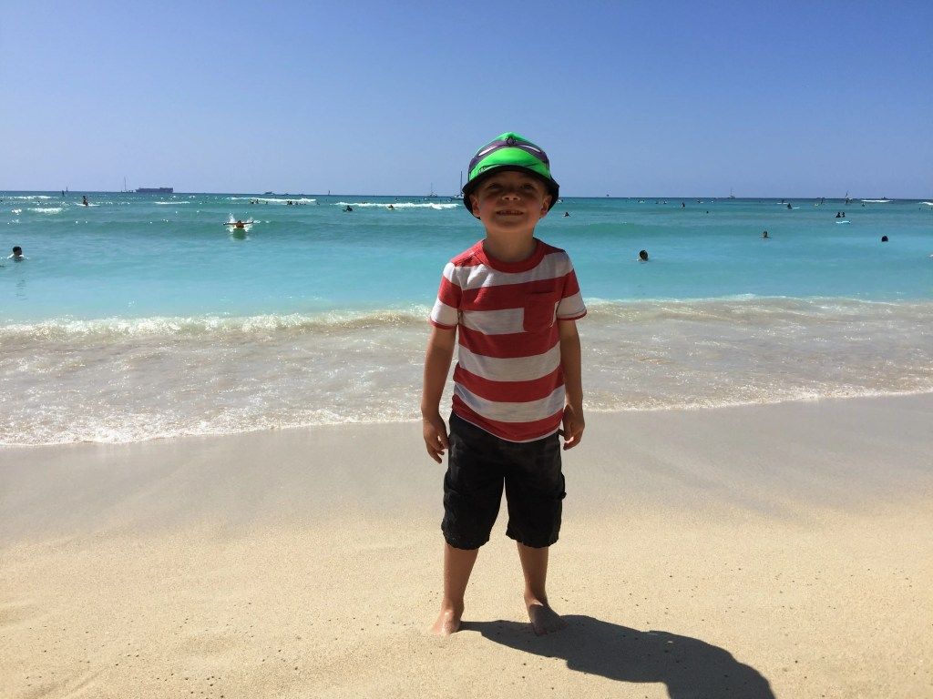 Waikiki Beach Hawaii Timmy 2016-03