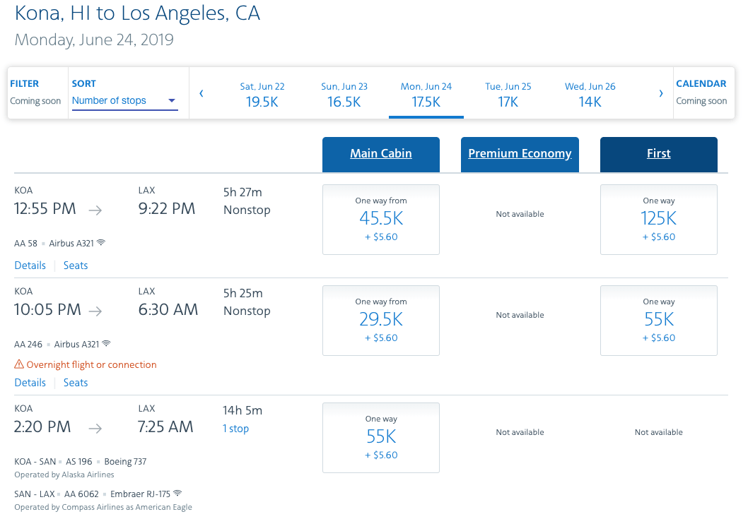 American Airlines Confirms That Dynamic Award Pricing Is Coming