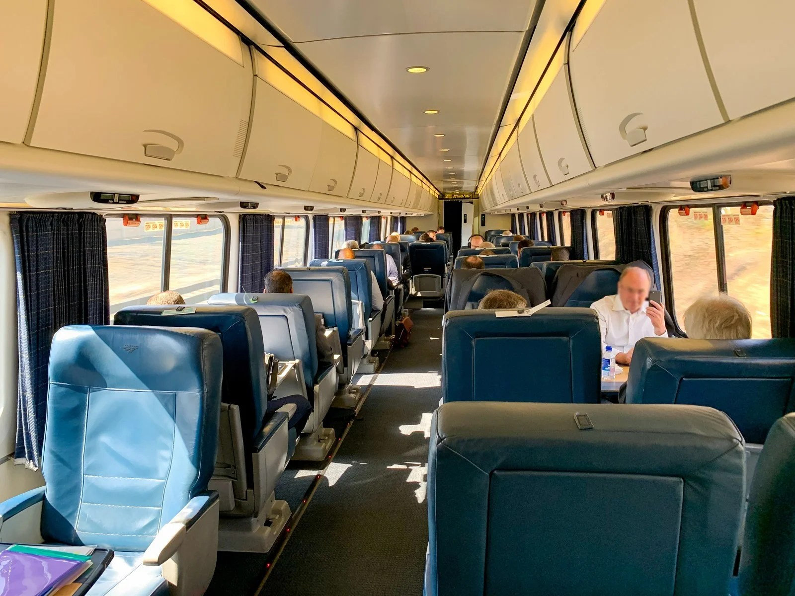 A Review of Amtrak's Acela Express in First Class