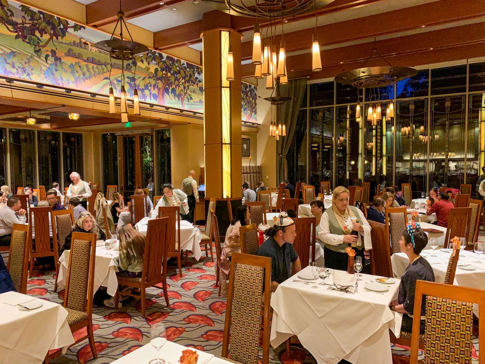 Disneyland Grand Californian Hotel Restaurant