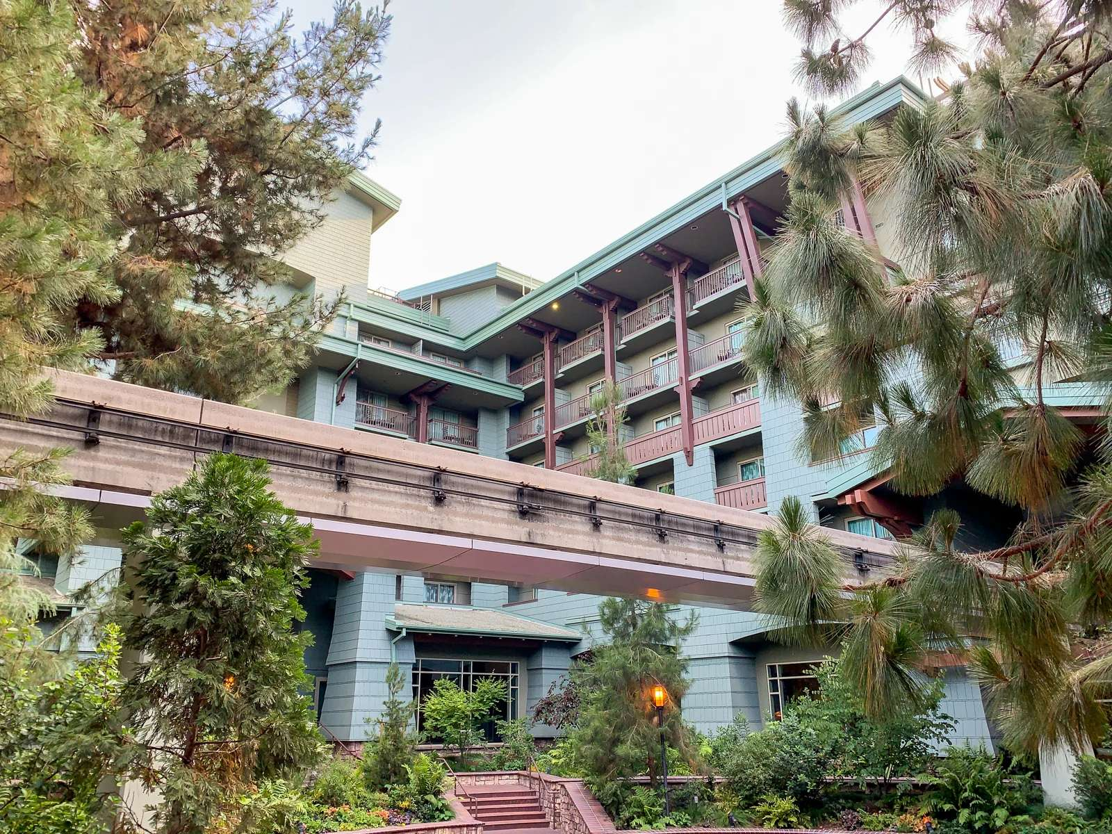 Disneyland Grand Californian Hotel Exterior
