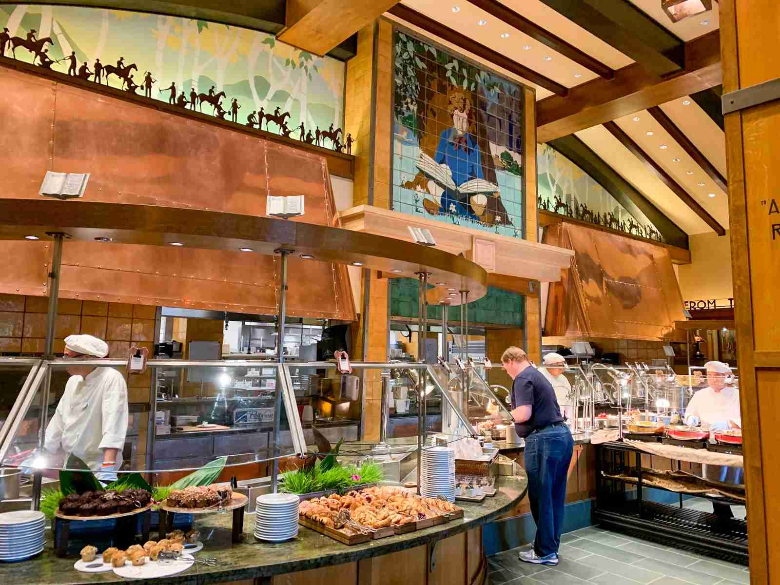 Disneyland Grand Californian Hotel Buffet