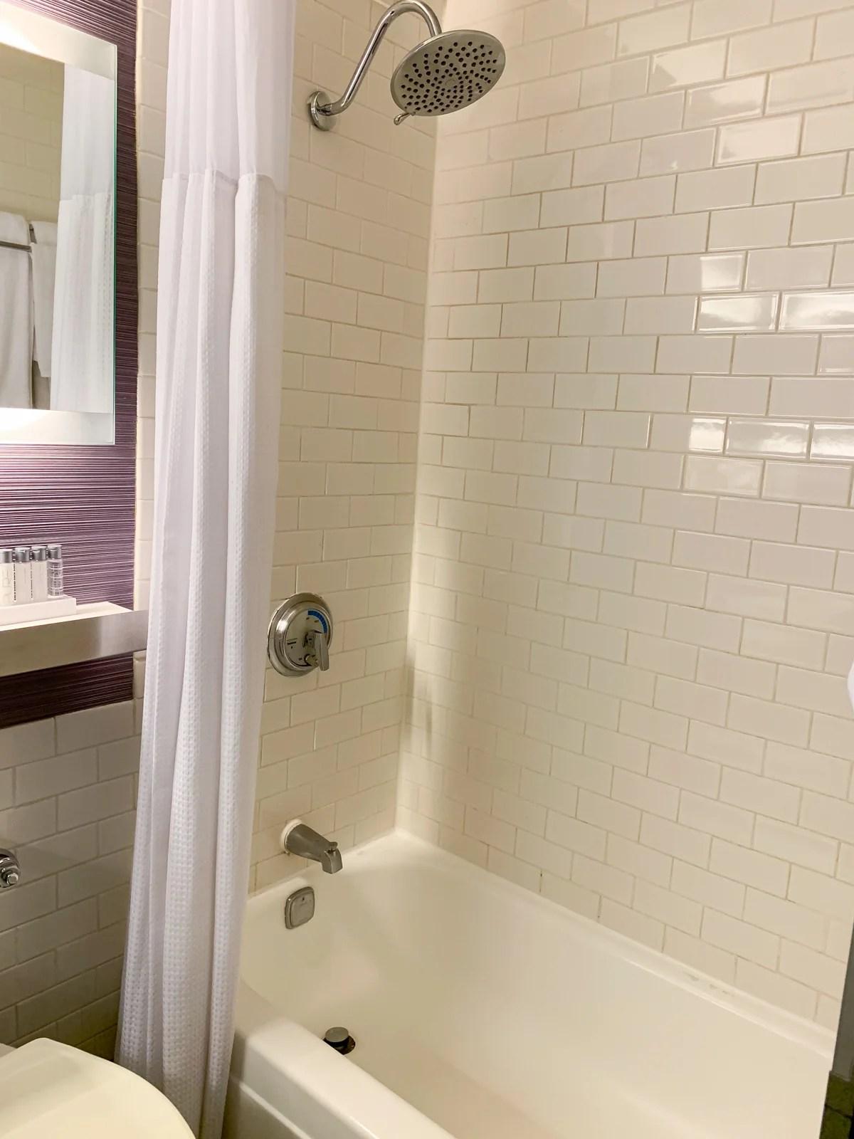 Maxwell Hotel NYC Shower