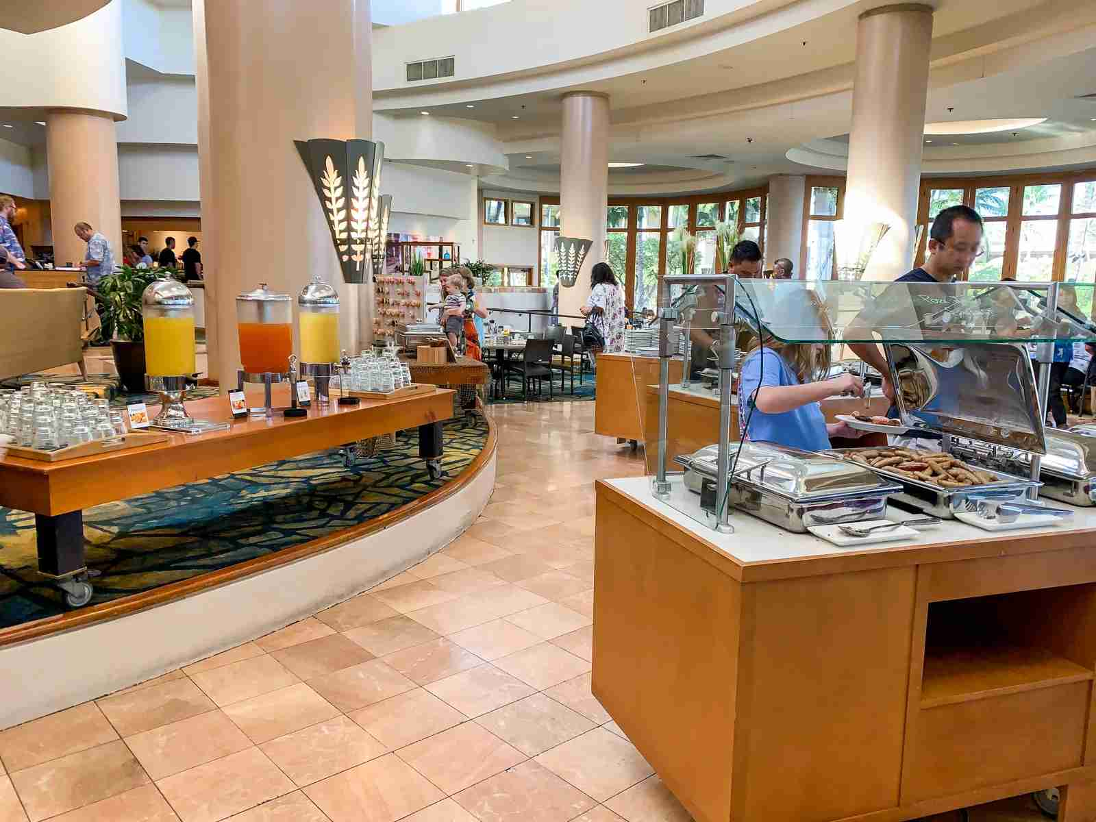 Hilton Waikoloa breakfast (Photo by Summer Hull / The Points Guy)