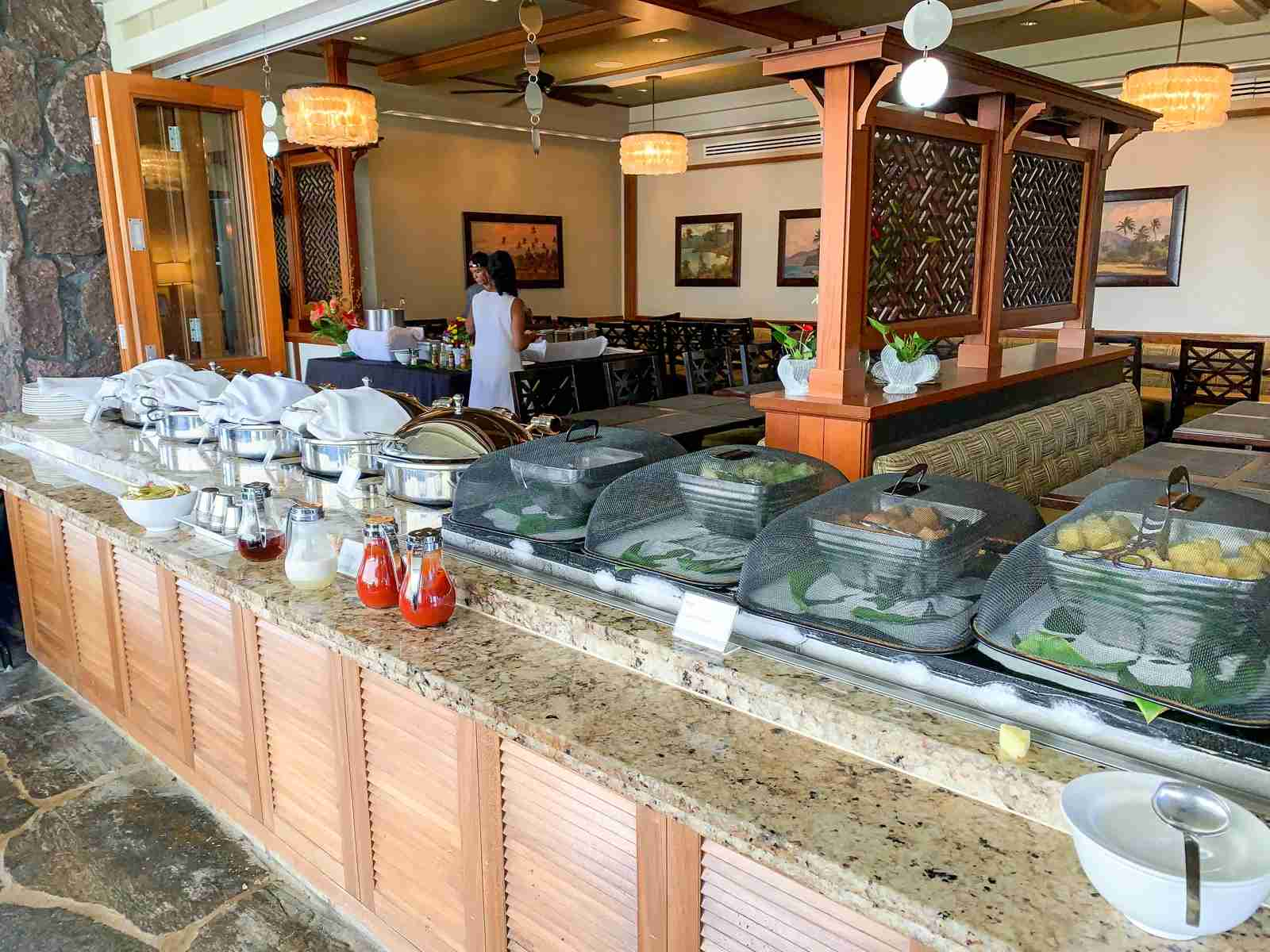 Westin Princeville charges extra for the full buffet instead of continental plate (Photo by Summer Hull / The Points Guy)