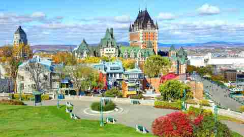 Old Quebec is a historic neighborhood of Quebec City, Quebec, Canada