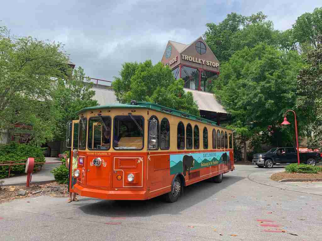 Gatlinburg TN trolley