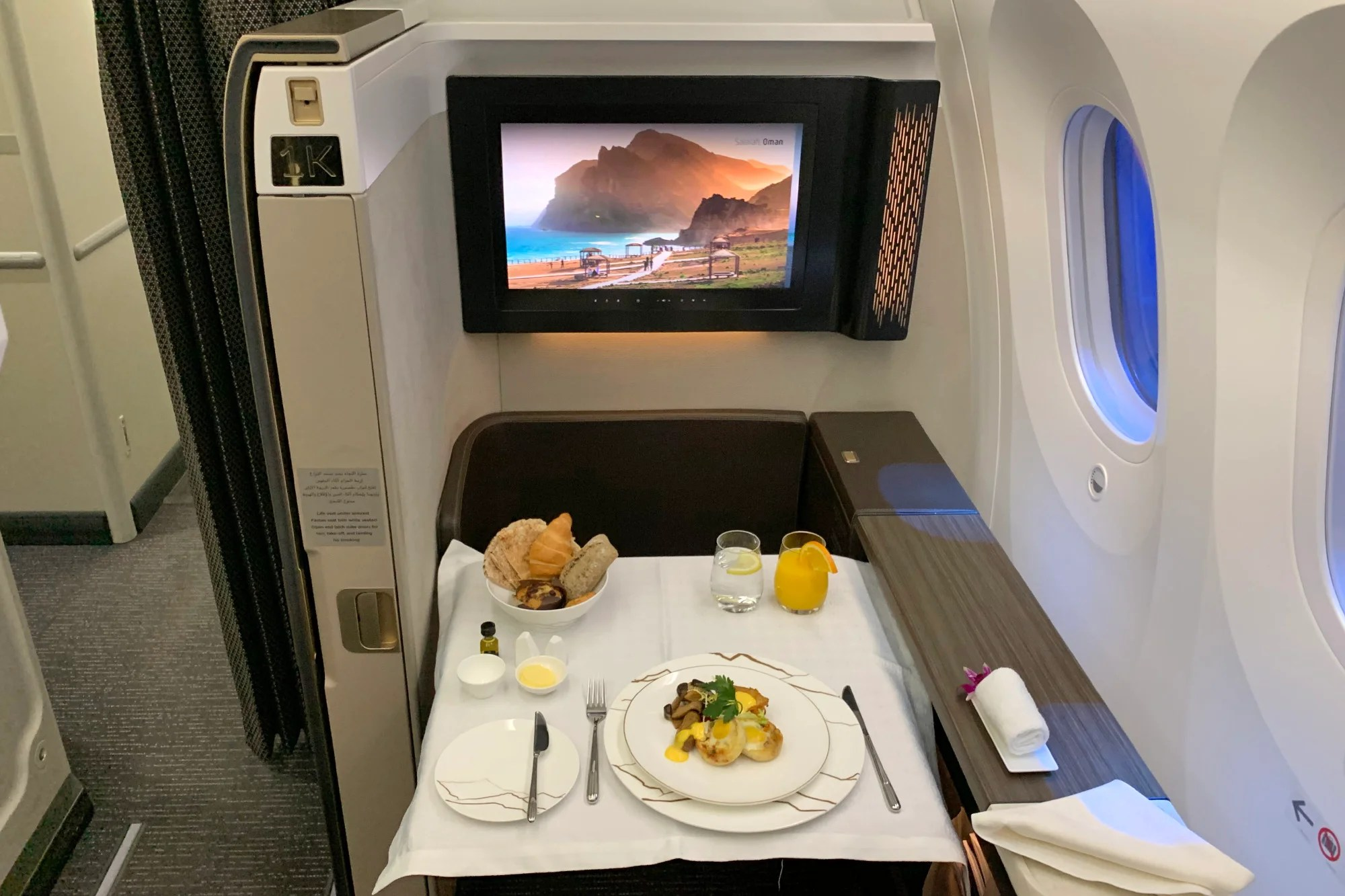 A Review of Oman Air's 787-9 in First Class