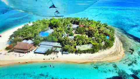Fiji Island Plane Wing