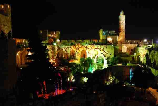 Tower of David Night Spectacular