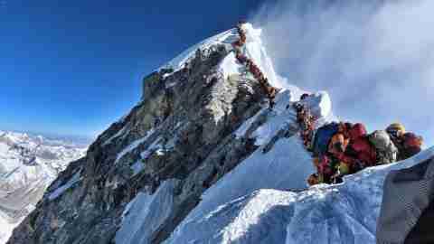 Mt Everest Overcrowded Line Nirmal Purja