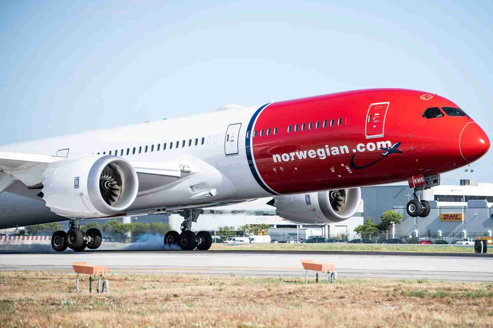 Norwegian-787-at-Los-Angeles-AIrport-LAX