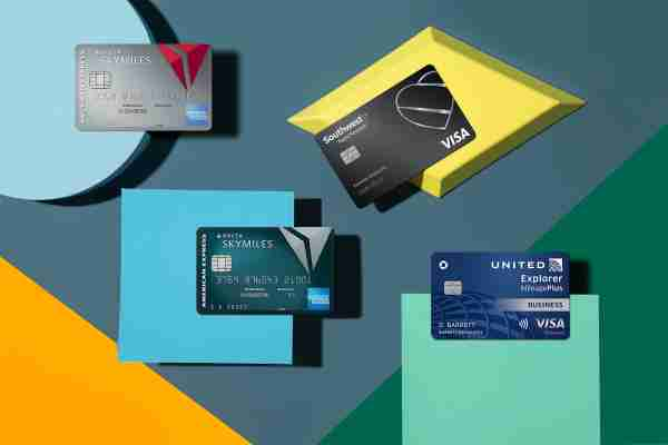 Four airline cobranded credit cards