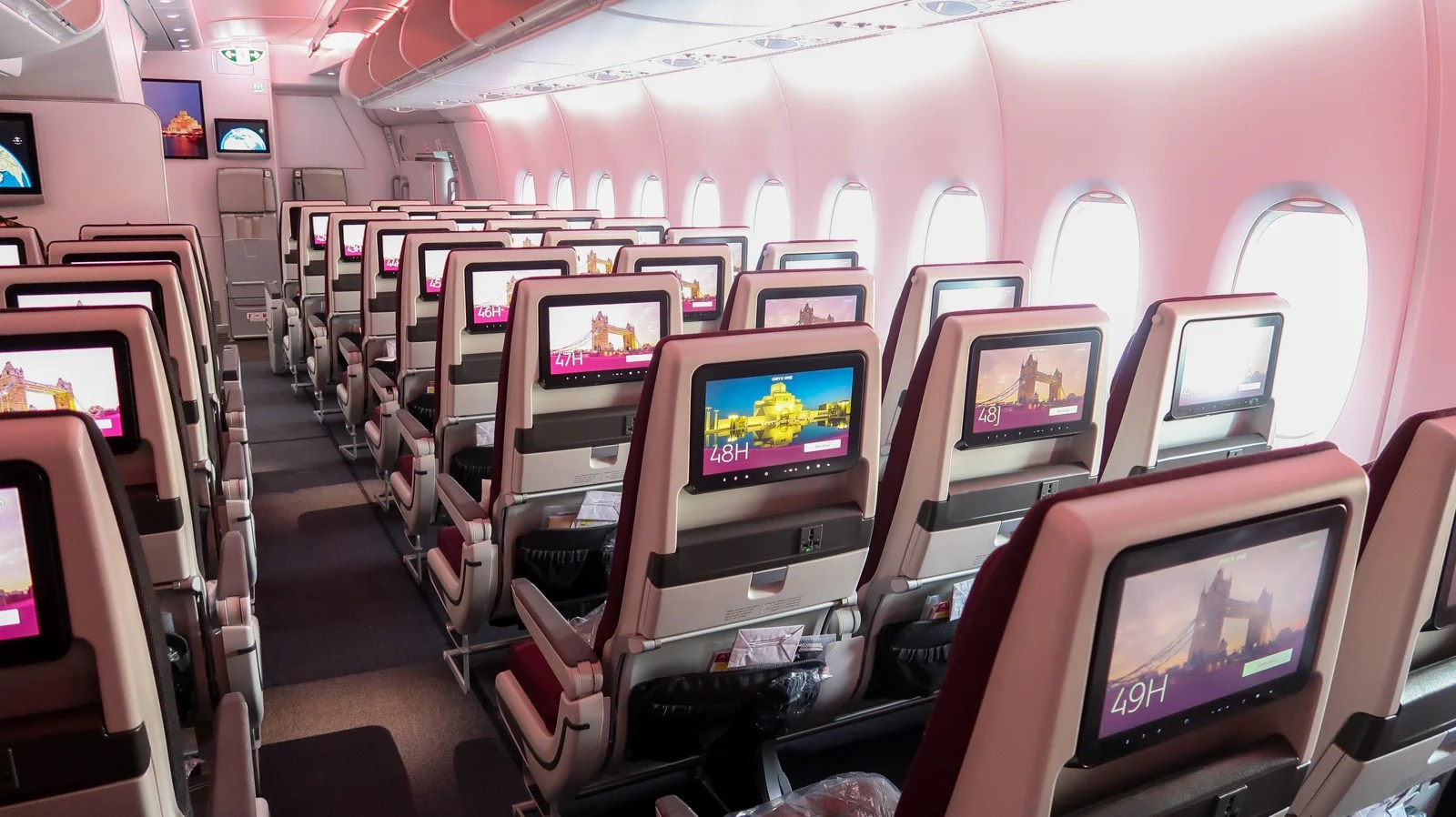 I Didn't Want to Get Off the Plane: A Review of Qatar Airways Economy on the A380 From Doha to London