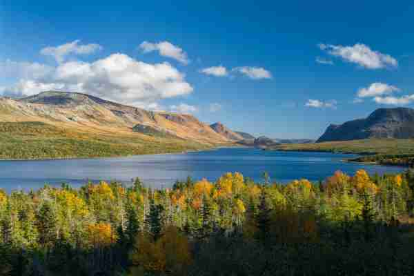 Trout River Pond inGros Morne National Park, Newfoundland. (Photo by Robert George Young / Getty Images)