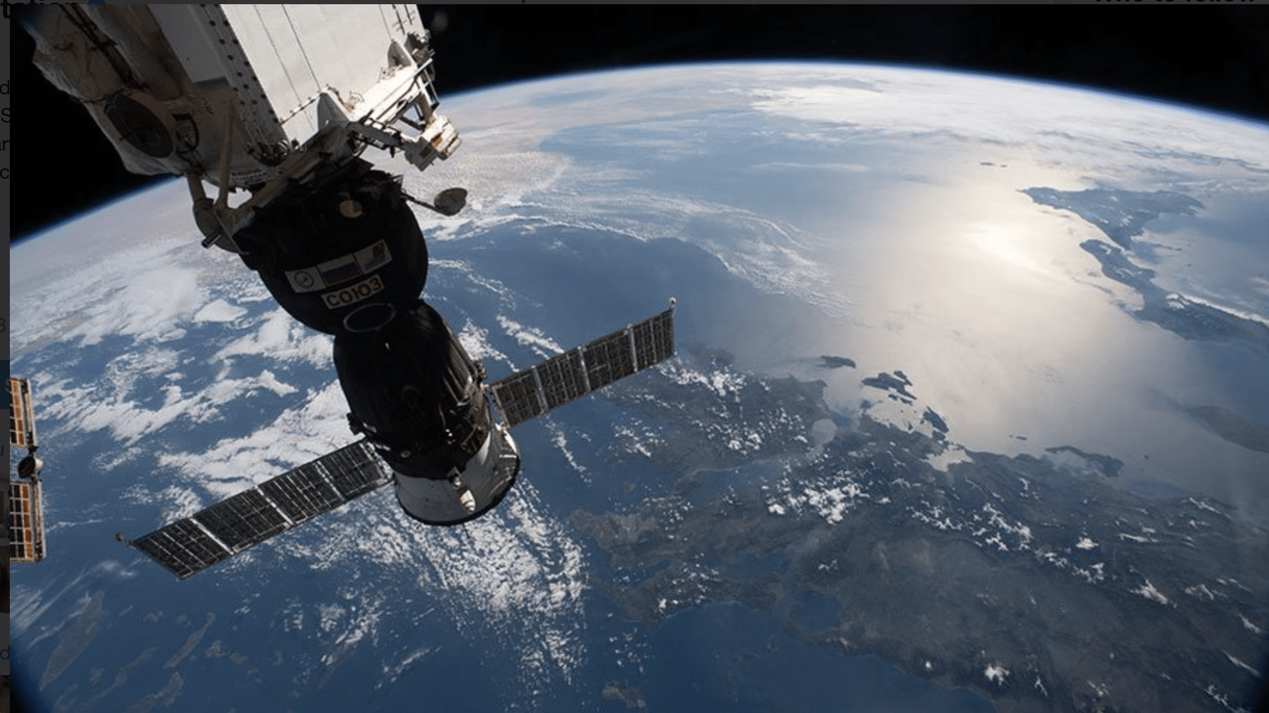 NASA Opens International Space Station to Tourism, Commercial Use
