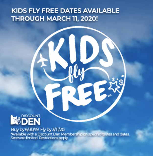 Frontier BOGO With Kids Fly Free