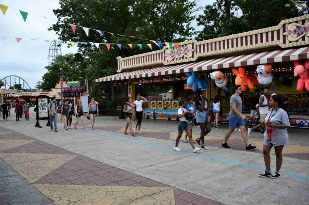 The Boardwalk is a place to play arcade-style games for an extra fee (photo by Matthew Minucci)