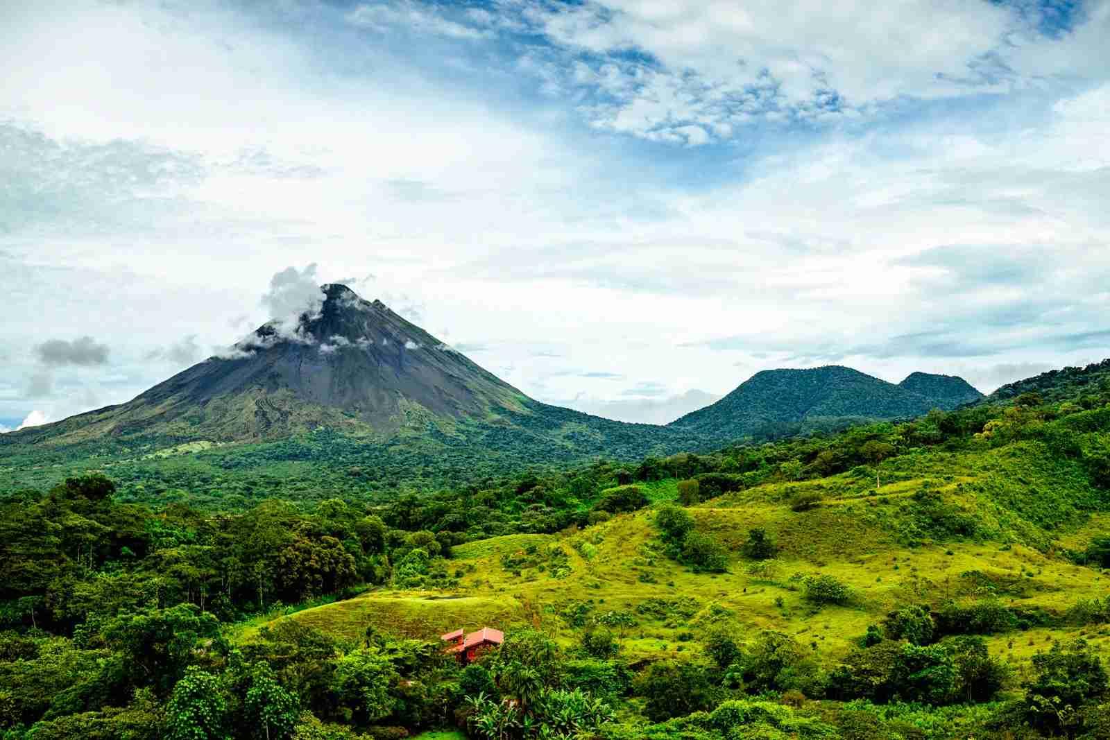 Arenal volcano Cerro Chato Costa Rica