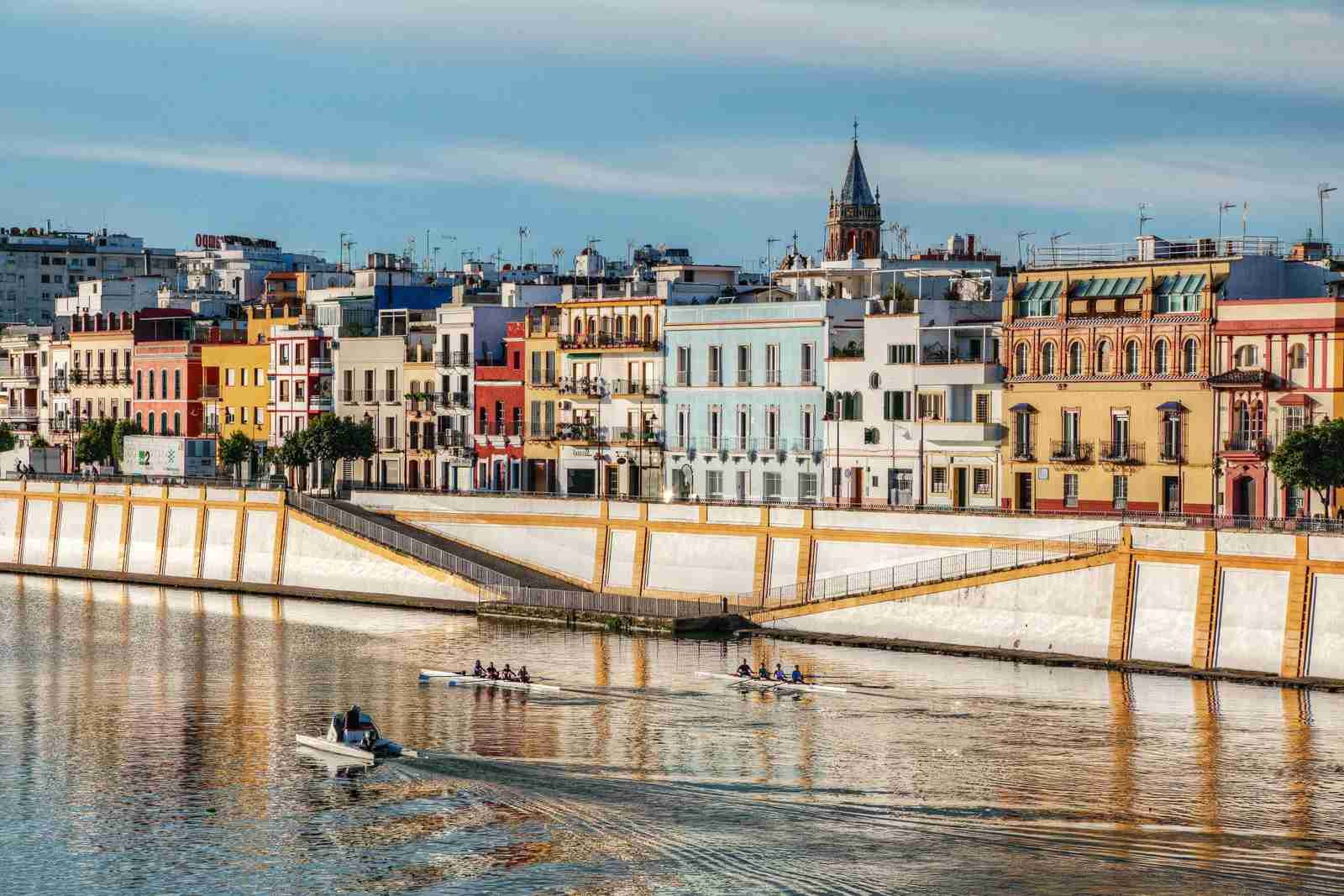 Triana colors, Seville, Spain