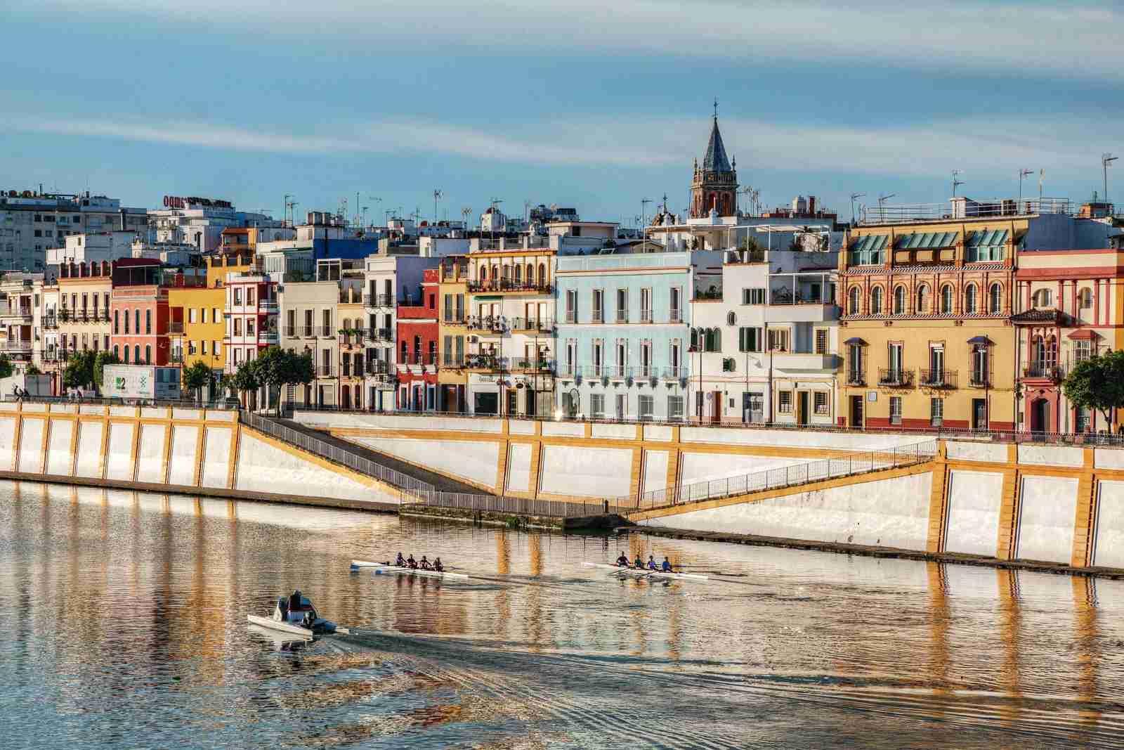 Triana colors, Seville, Spain