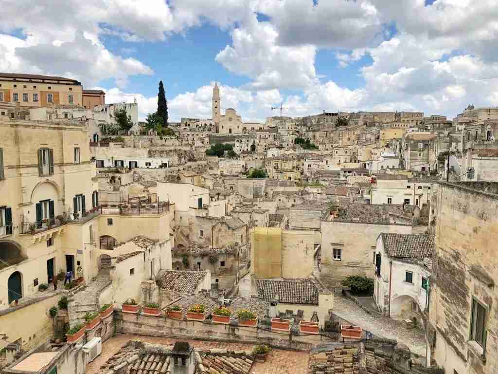 The sassi of Matera. (Photo courtesy of Marco del Greco.)