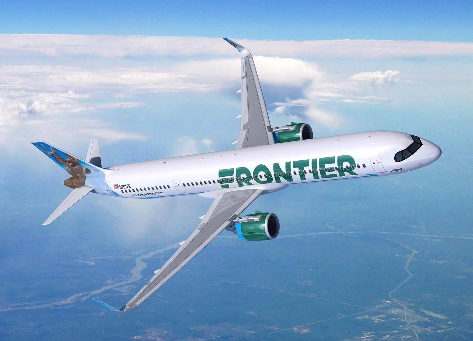Frontier Airlines Becomes the First US Customer for New Airbus A321XLR