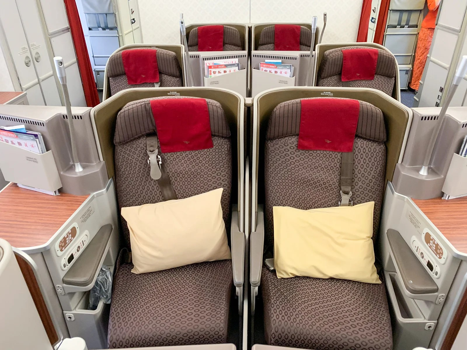 It's Got Potential: Flying Garuda Indonesia in Business Class on the 777-300ER