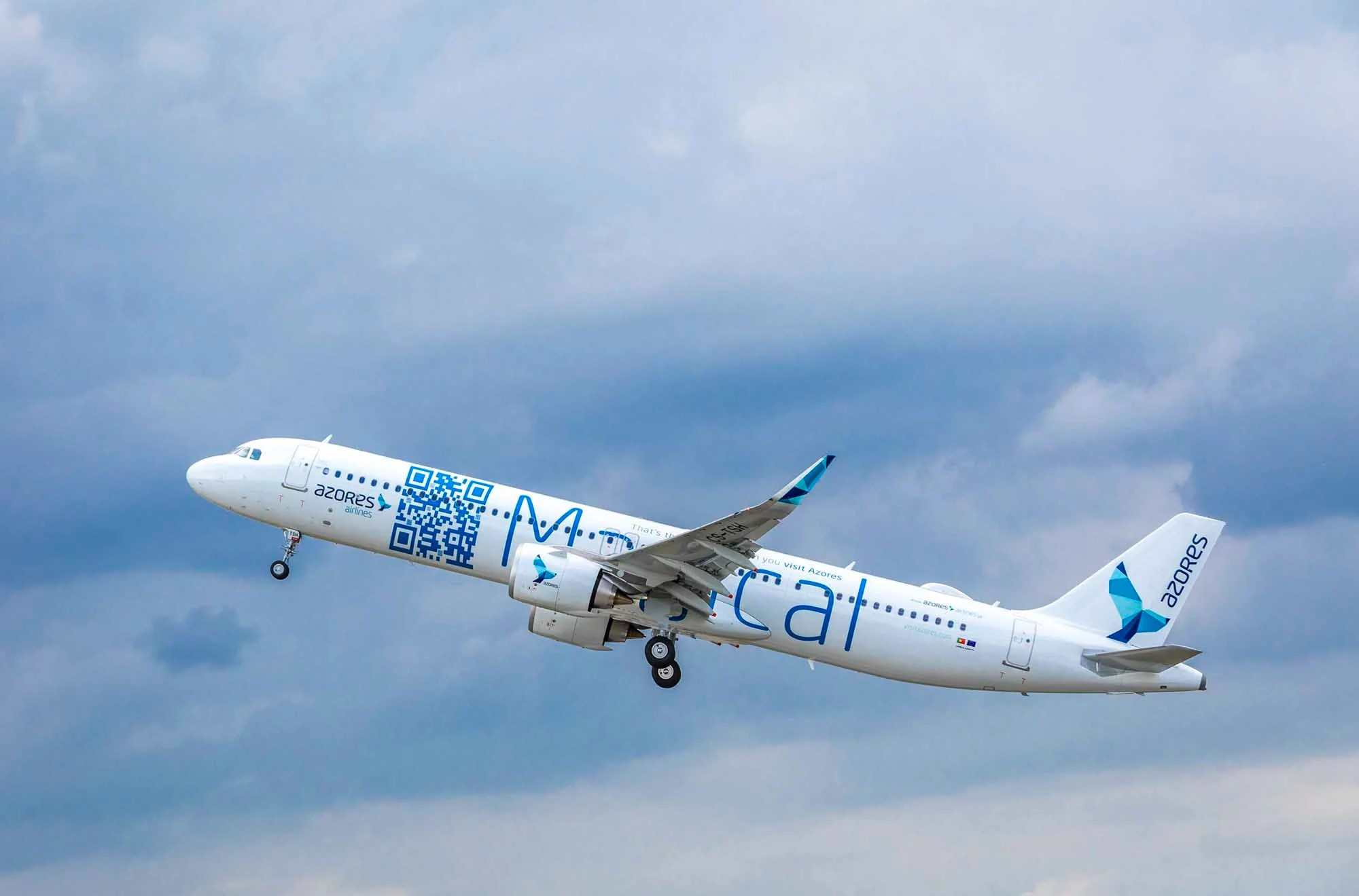 Azores Airlines Adds First Airbus A321LR to Its Fleet