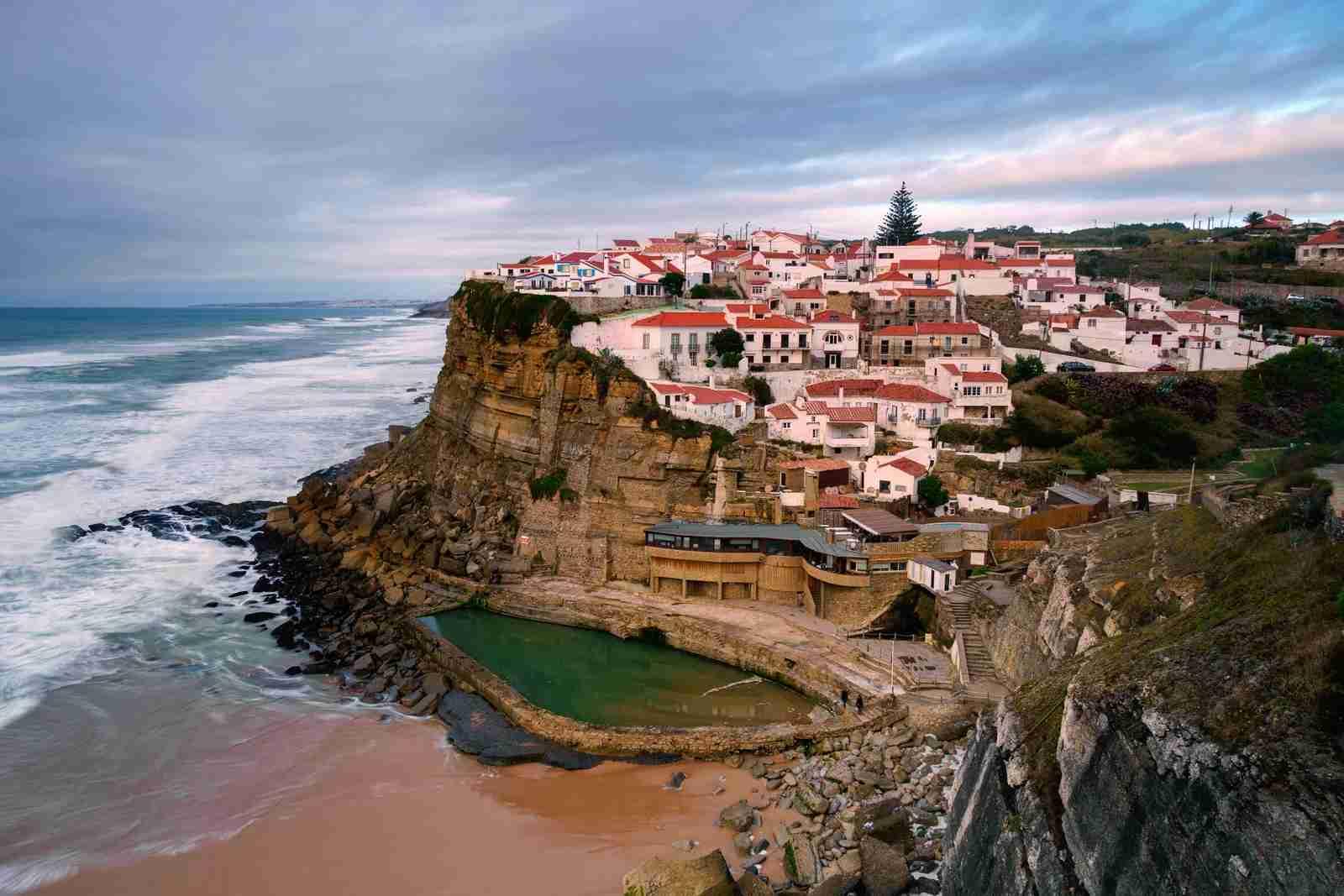 Sintra Natural Park Lisbon Portugal Seascape