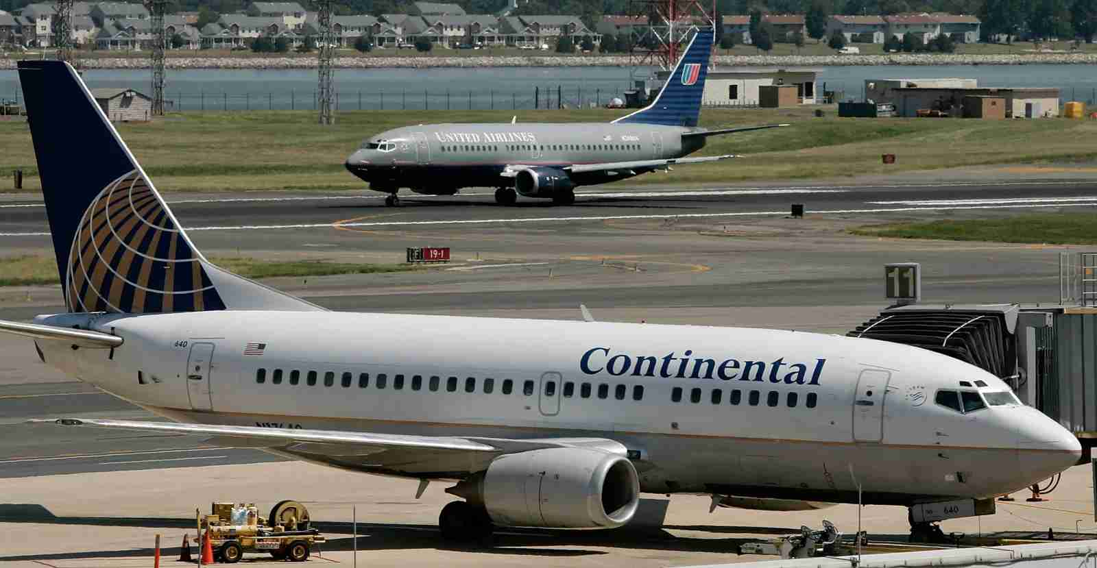 United Airlines and Continental Airlines merged in 2010. (Photo by Alex Wong / Getty Images)