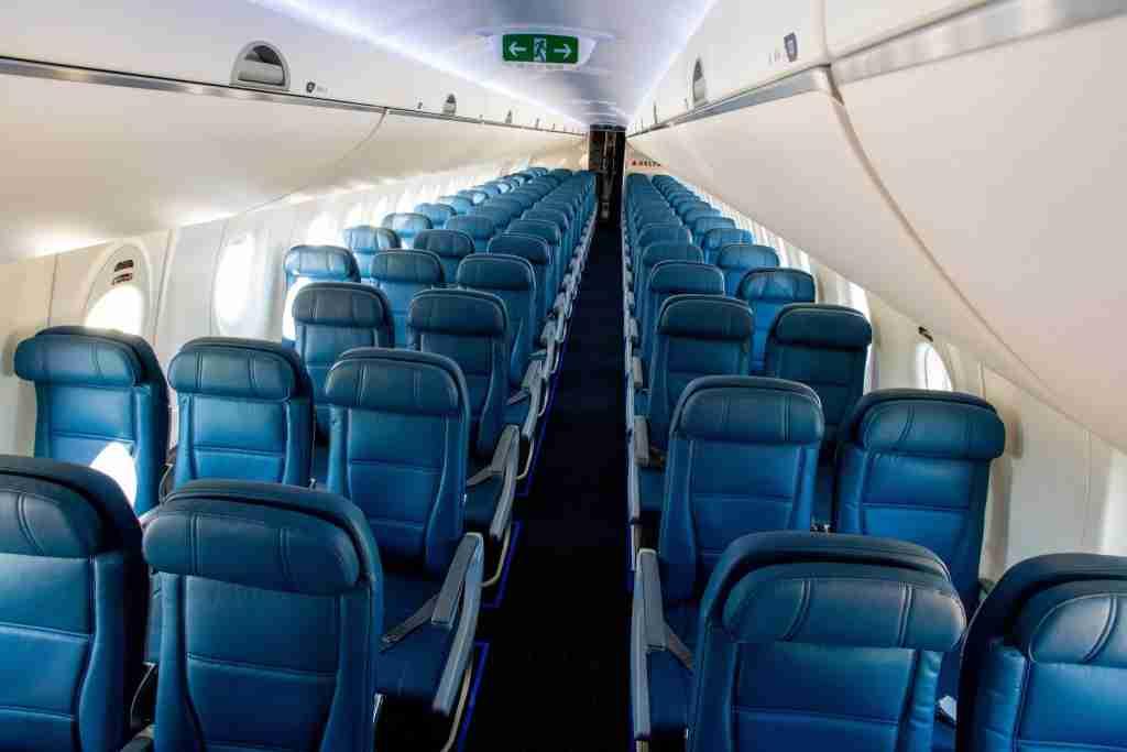 A220 main cabin.