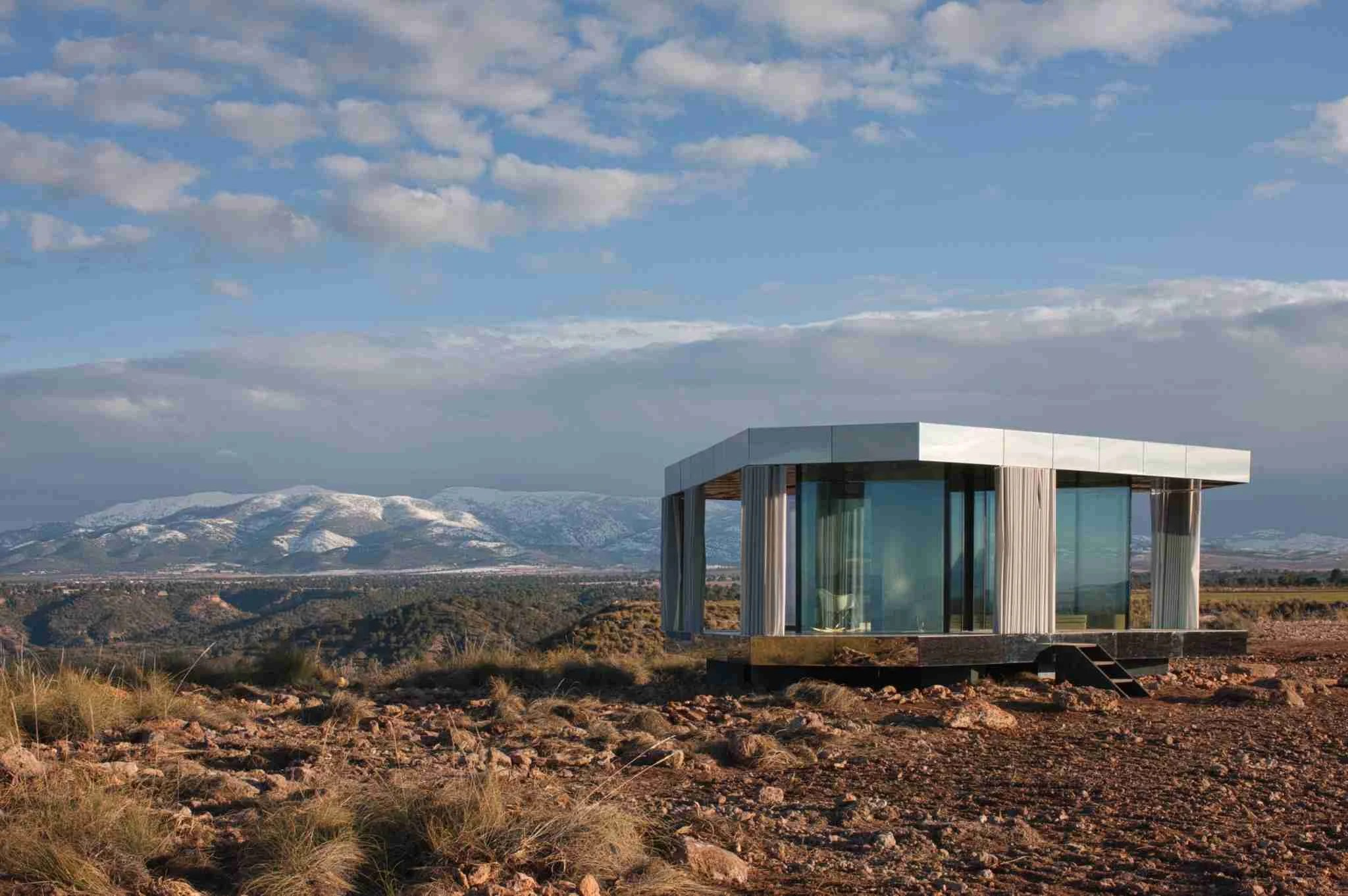 You Can Stay in the Glass Cube From 'Black Mirror' for Your Next Vacation