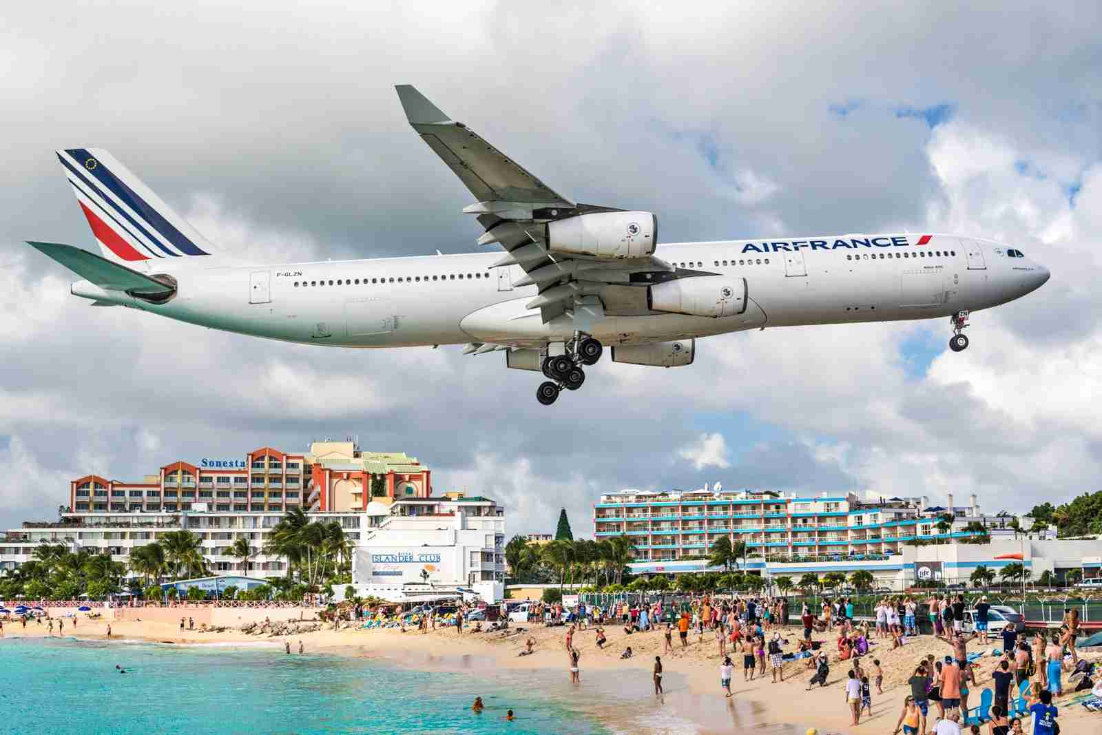 Maho Beach on Saint Maarten. (Photo by SeanPavonePhoto / Getty Images)