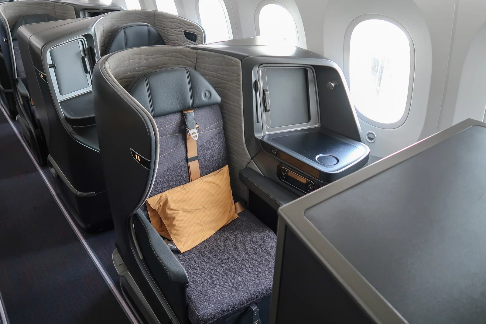 First Look Inside Turkish Airlines' Brand-New 787 Dreamliner