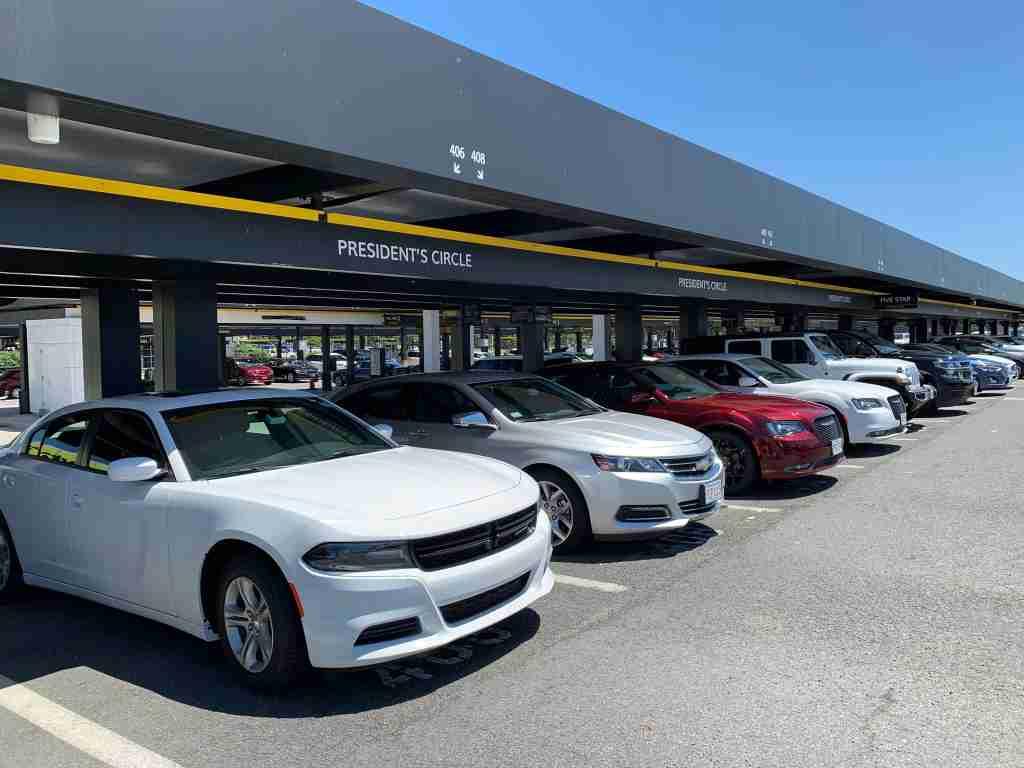 hertz-presidents-circle-cars-washington-dulles-iad-airport-2019