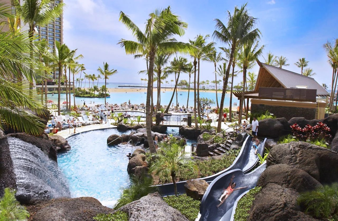 The family-friendly Hilton Hawaiian Village Waikiki Beach Resort, Oahu, Hawaii. (Photo courtesy of the Hilton Hawaiian Village Waikiki Beach Resort)