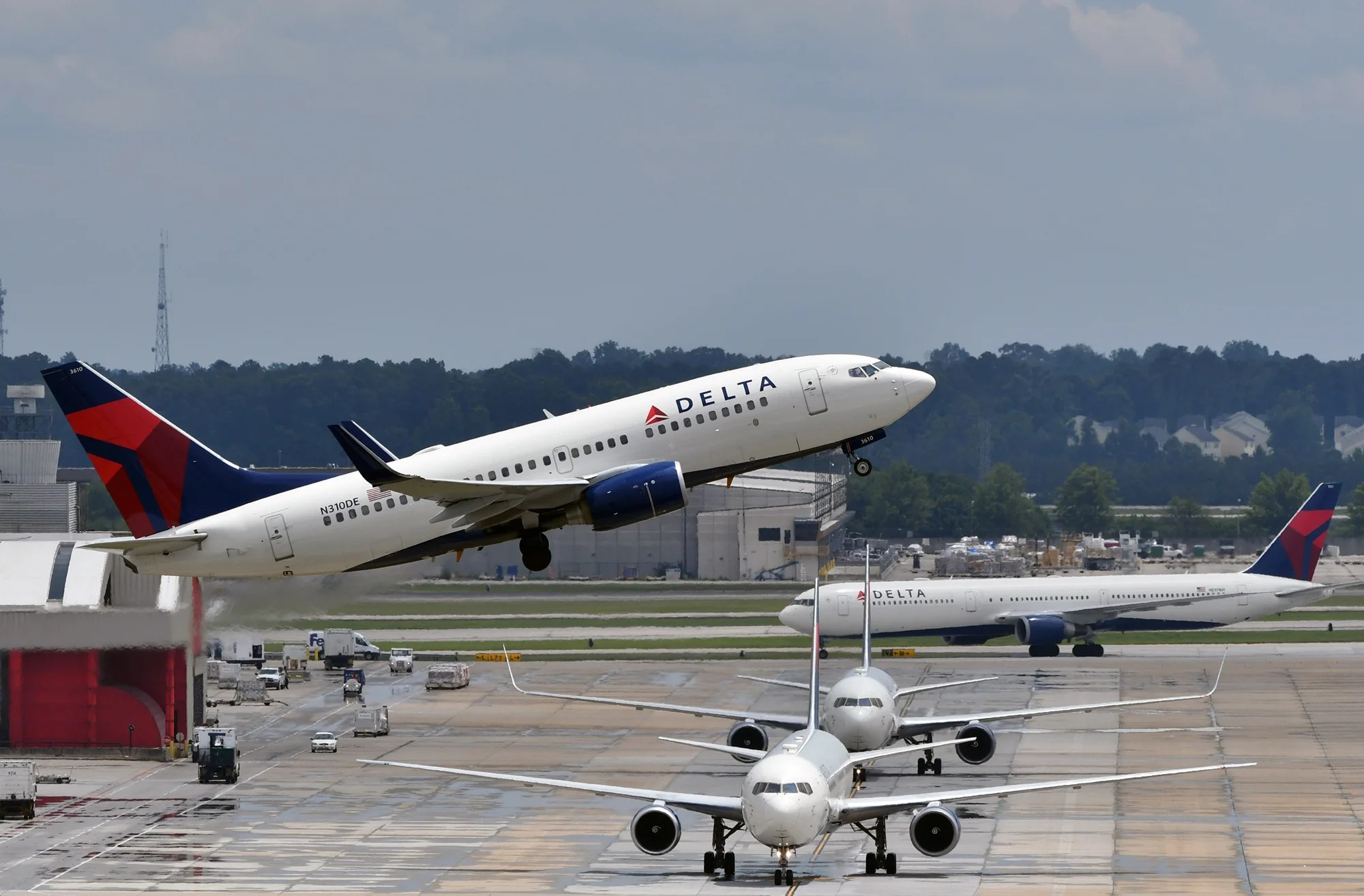 The government says a man scammed Delta out of 42 million SkyBonus points