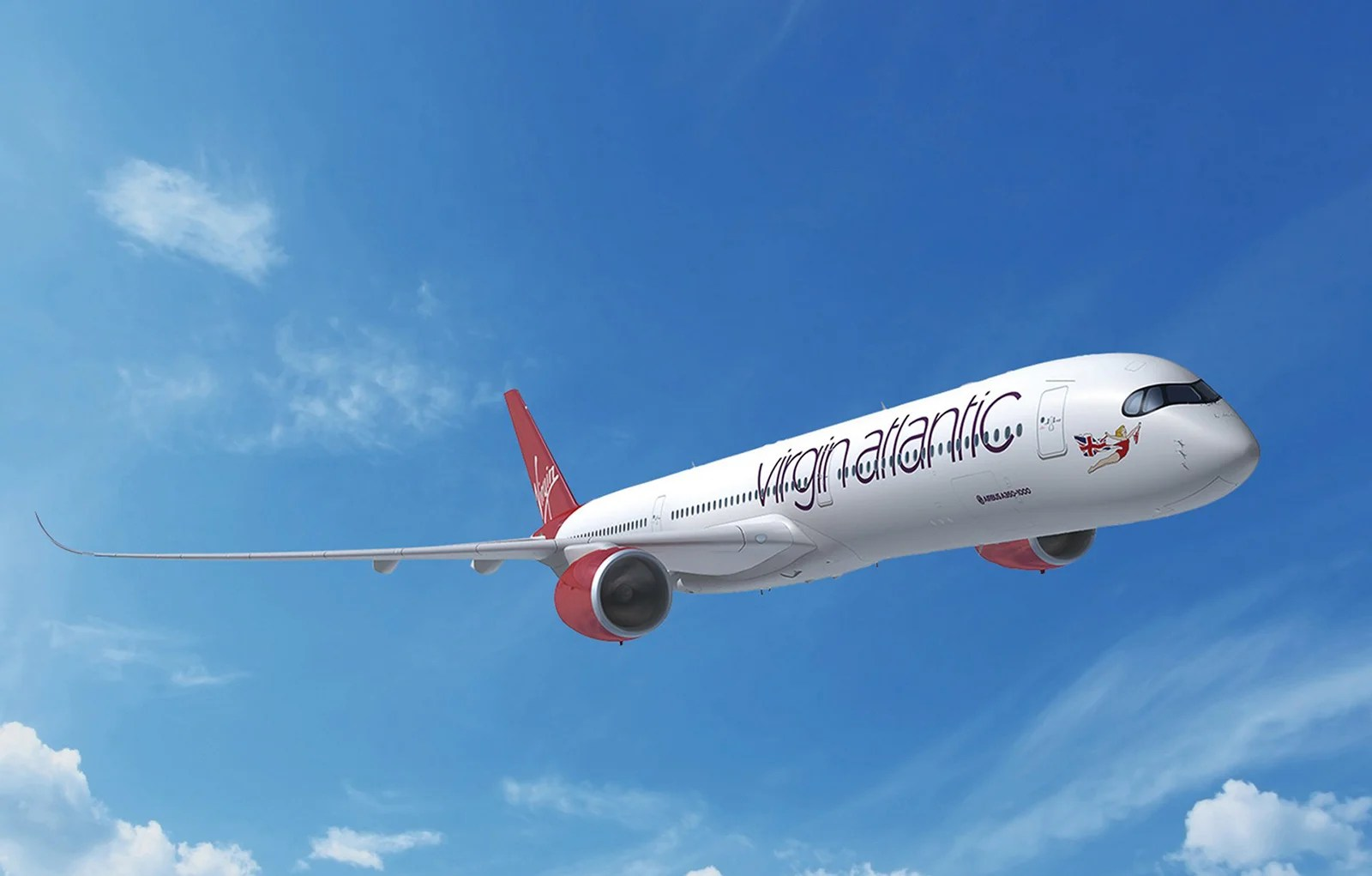 Virgin Atlantic Takes Delivery of Its New Plane for the JFK Route, the A350-1000