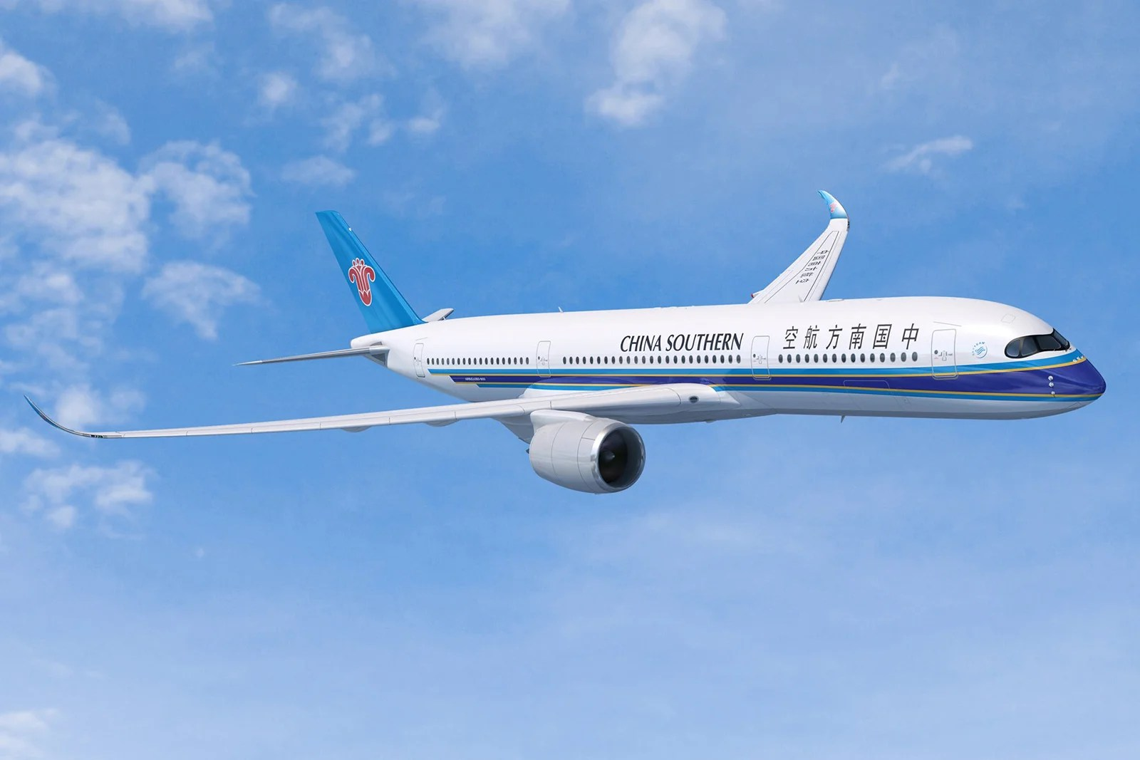 A Look Inside China Southern's First Airbus A350-900