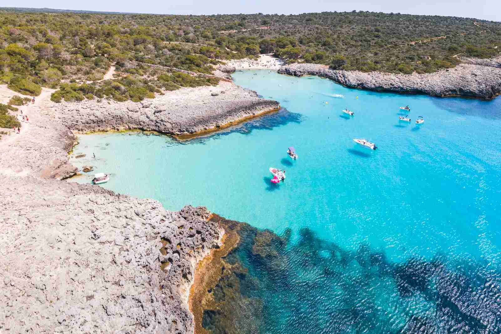 Cala Des Talaier beach. (Photo by Matteo Colombo / Getty Images)