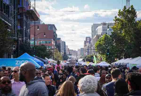 The H Street Festival in Washington DC. (Photo by Stephanie Kenner / Shutterstock)