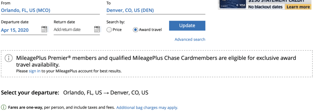 Unlocking United Award Availability with MileagePlus Cards