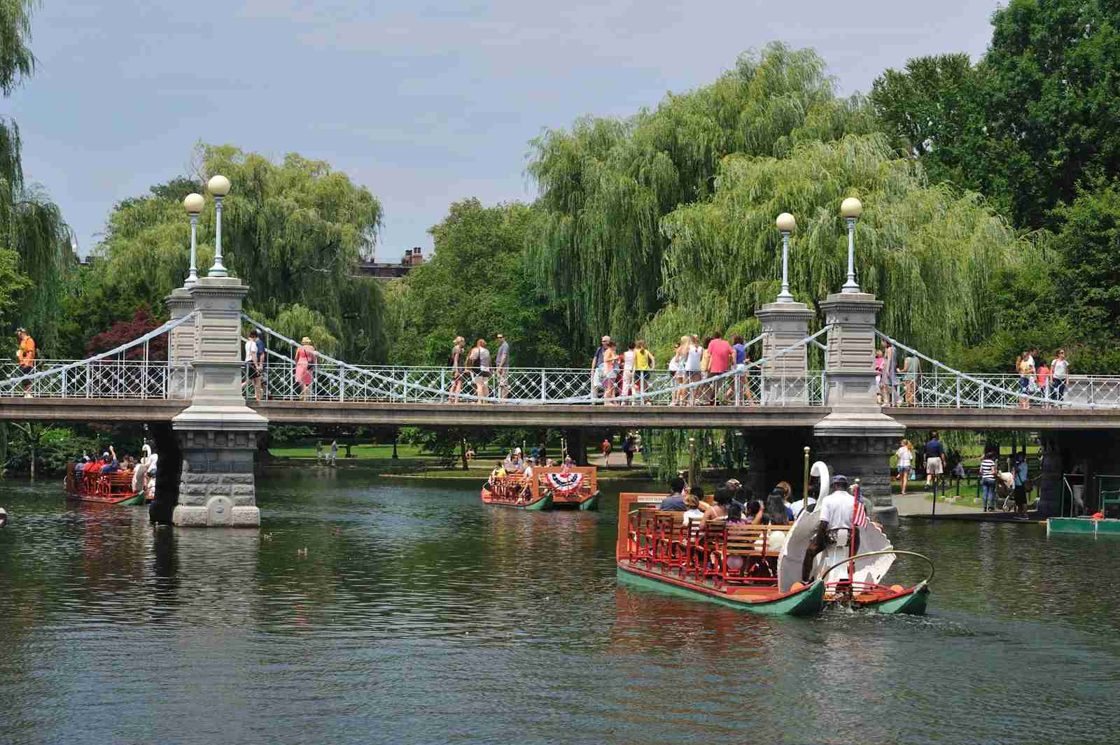 The Swan Boat Ride at Boston Common. (Photo by aimintang / Getty Images)