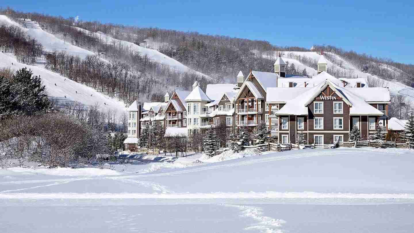 The Westin is just a couple minutes away from the gondola. (Photo courtesy of Marriott.)
