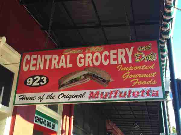 Central Grocery. (Photo by Tara Schulz/Shutterstock)