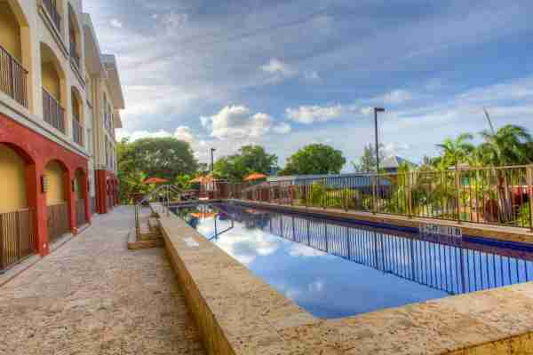 The Courtyard Bridgetown Barbados. (Photo courtesy of the Courtyard Bridgetown Barbados)